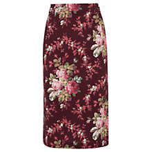 Buy Oasis Rosemary Pencil Skirt, Multi Online at johnlewis.com