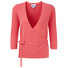 Buy Pure Collection Courtney Wrap Cardigan, Tigerlily Online at johnlewis.com