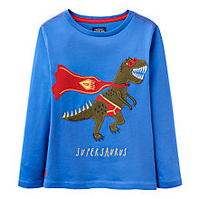 Buy Joules Boys' Junior Jack Supersaurus Jersey Top, Multi Online at johnlewis.com