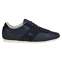 Buy Lacoste Turnier Trainers, Navy Online at johnlewis.com
