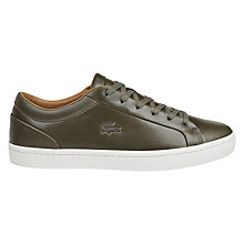 Buy Lacoste Straightset Trainers Online at johnlewis.com
