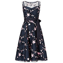 Buy Phase Eight Azaria Dress, Navy/Pink Online at johnlewis.com