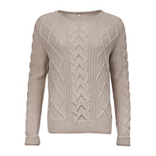 Buy Barbour Tidewater Cable Knit Jumper Online at johnlewis.com