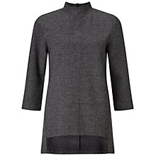 Buy Finery Belsize Tunic Top, Grey Online at johnlewis.com