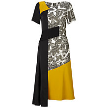 Buy Finery Bratton Entwined Feather Print Dress, Multi Online at johnlewis.com