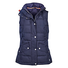 Buy Barbour Landry Gilet, Navy Online at johnlewis.com