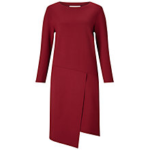 Buy Finery Lynton Seam Detail Jersey Dress, Mulberry Online at johnlewis.com