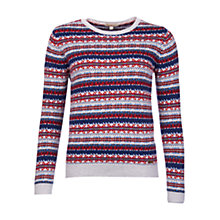 Buy Barbour Mallow Fairisle Jumper Online at johnlewis.com