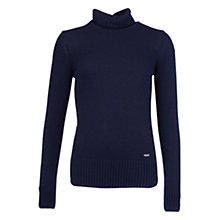 Buy Barbour Sorrel Roll Neck Jumper, Navy Online at johnlewis.com