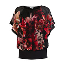 Buy Coast Elena Printed Calla Top. Multi Online at johnlewis.com