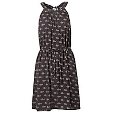 Buy Fat Face Felicity Fish Dress, Phantom Online at johnlewis.com