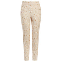 Buy Coast Levitt Lace Trousers, Neutral Online at johnlewis.com