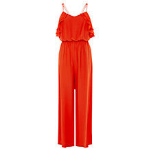 Buy Coast Kora Jumpsuit, Red Online at johnlewis.com