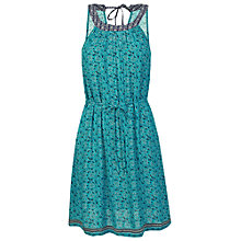 Buy Fat Face Felicity Floral Dress, Eucalyptus Online at johnlewis.com