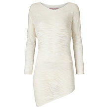 Buy Phase Eight Eve Slub Top, White Online at johnlewis.com