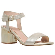 Buy KG by Kurt Geiger Nora Block Heel Sandals Online at johnlewis.com