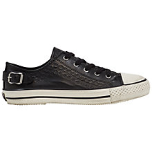 Buy Ash Virgo Lace Up Trainers, Black Online at johnlewis.com