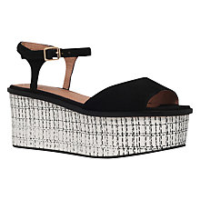 Buy KG by Kurt Geiger Mambo Flatform Sandals Online at johnlewis.com