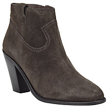 Buy Ash Ivana Heeled Ankle Boots, Bistro Brown Online at johnlewis.com