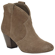 Buy Ash Jalouse Heeled Ankle Boots, Topo Suede Online at johnlewis.com