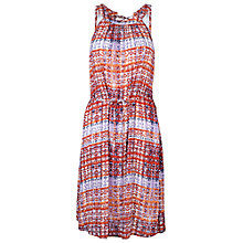 Buy Fat Face Felicity Sand Dune Dress, Coral Online at johnlewis.com