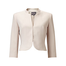 Buy Phase Eight Palmer Jacket, Oyster Online at johnlewis.com