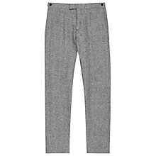 Buy Reiss Luxor Linen Suit Trousers, Grey Online at johnlewis.com