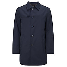 Buy Bugatti 90cm Modern Water-Repellent Raincoat, Navy Online at johnlewis.com