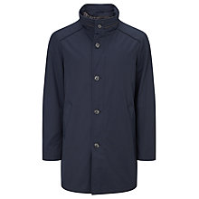 Buy Bugatti 90cm Funnel Neck Water-Repellent Raincoat, Navy Online at johnlewis.com