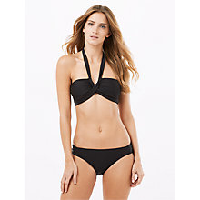 Buy Phase Eight Esi Slim Bikini Bottoms, Black Online at johnlewis.com