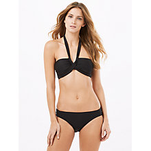 Buy Phase Eight Esi Halter Bikini Top, Black Online at johnlewis.com