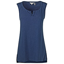 Buy Fat Face Isla Notch Neck Cami, Indigo Online at johnlewis.com