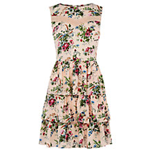 Buy Oasis Chintz Rosanna Skater Dress, Multi Online at johnlewis.com