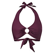 Buy Phase Eight Vanessa Bikini Top, Plum Online at johnlewis.com