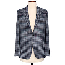 Buy Thomas Pink Underhill Check Blazer, Grey/Navy Online at johnlewis.com