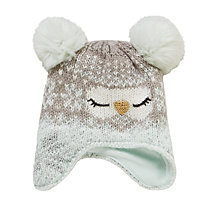 Buy John Lewis Children's Novelty Owl Hat, Grey Online at johnlewis.com