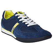 Buy Polo Ralph Lauren Jacory Suede Lace-Up Trainers Online at johnlewis.com