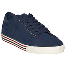 Buy Polo Ralph Lauren Harvey Trainers, Navy Online at johnlewis.com