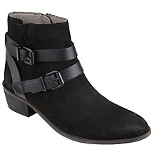 Buy H by Hudson Meeya Buckle Ankle Boots Online at johnlewis.com