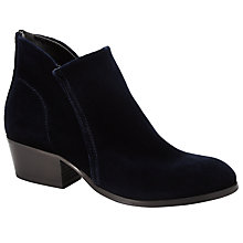 Buy H by Hudson Apisi Ankle Boots, Navy Online at johnlewis.com