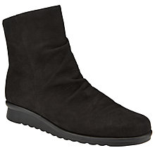 Buy John Lewis Designed for Comfort Peony Ankle Boots, Black Online at johnlewis.com