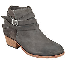 Buy H by Hudson Horrigan Block Heeled Ankle Boots, Smoke Online at johnlewis.com