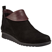 Buy John Lewis Designed for Comfort Perilla Ankle Boots, Black Online at johnlewis.com