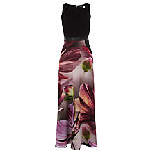 Buy Coast Amalfi Print Adrie Maxi Petite Dress, Multi Online at johnlewis.com