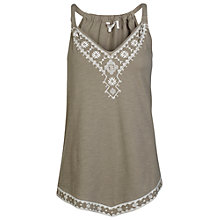 Buy Fat Face Tremore Embroidered Camisole Top Online at johnlewis.com