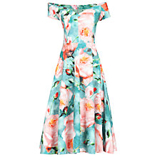 Buy Jolie Moi Sweetheart Neck Dress, Green Online at johnlewis.com