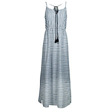 Buy Fat Face Newlyn Striped Maxi Dress, Indigo Online at johnlewis.com