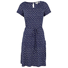 Buy Fat Face Ava Batik Ditsy Dress, Navy Online at johnlewis.com