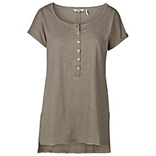 Buy Fat Face Lucy Henley T-Shirt Online at johnlewis.com