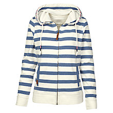 Buy Fat Face Reef Striped Zip Hoodie Online at johnlewis.com